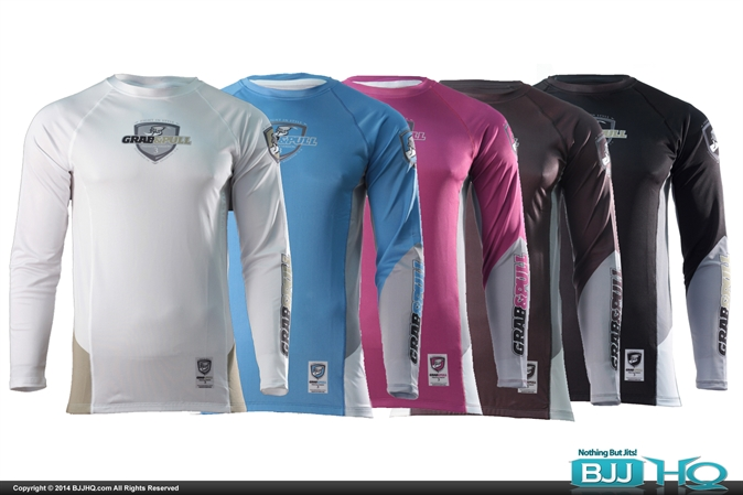 Grab and Pull Ranked Rashguard